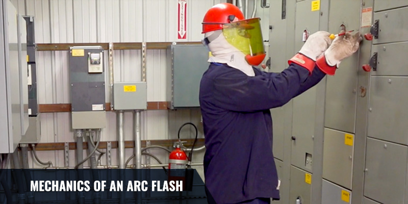 The Mechanics of an Arc Flash: Video