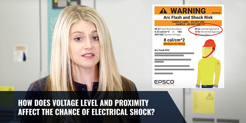 How Do Voltage Level and Proximity Affect the Chance of Electrical Shock?