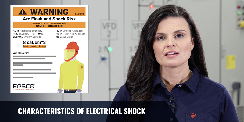Characteristics of Electrical Shock